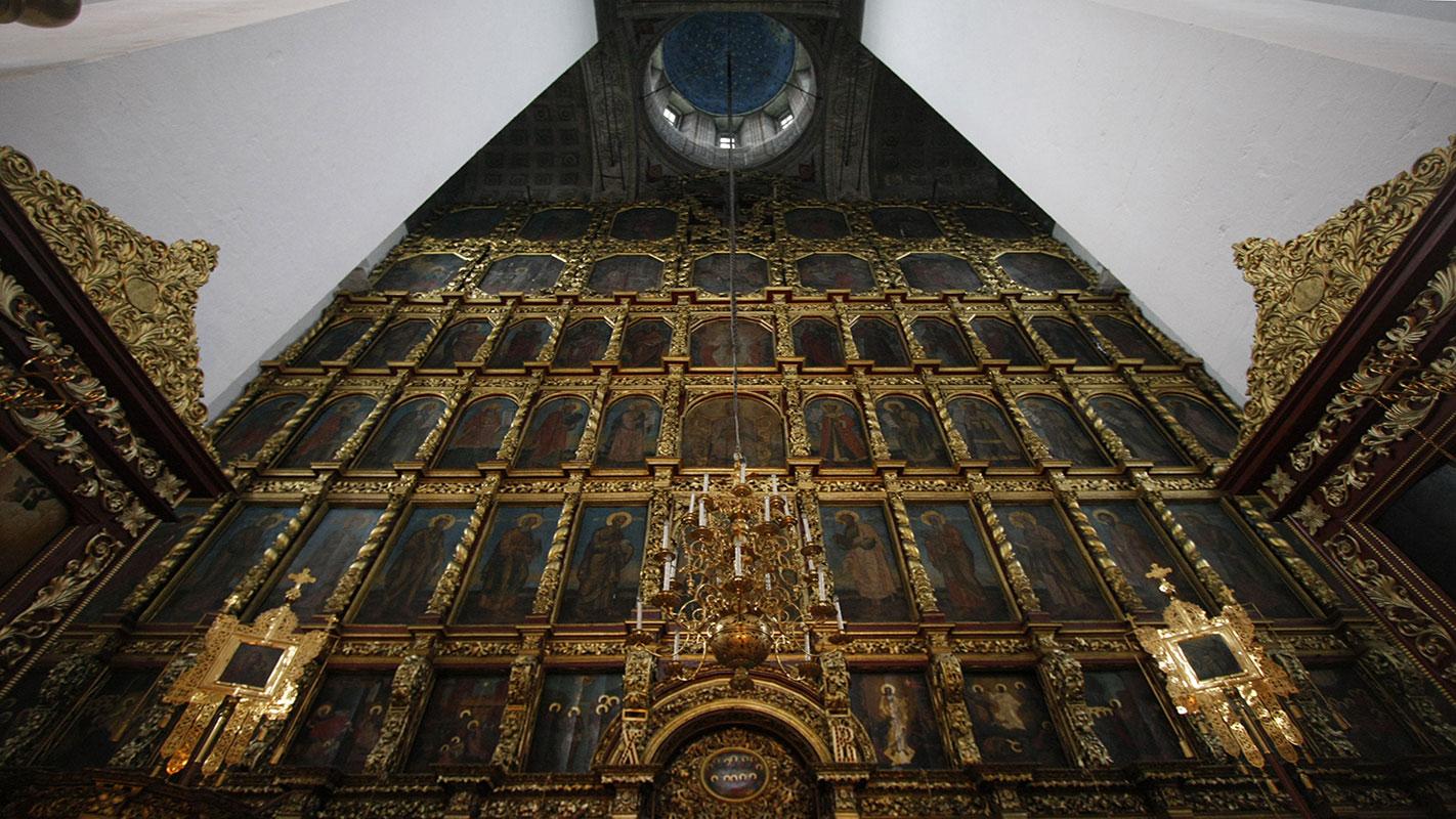 Ikonostas crkve Svete Trojice u Pskovu, Rusija, foto: Konstantin Novaković