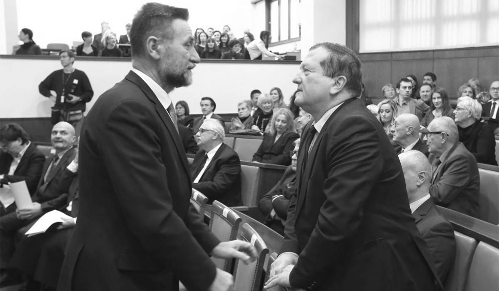 Pavo Barišić i Damir Boras, foto: Robert Anić/PIXSELL