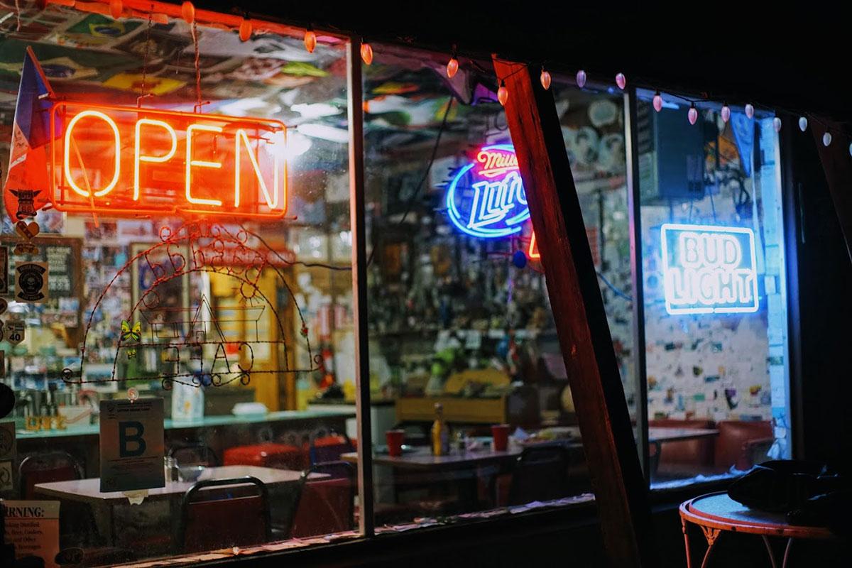 Izlog Bagdad cafe, Newberry Springs