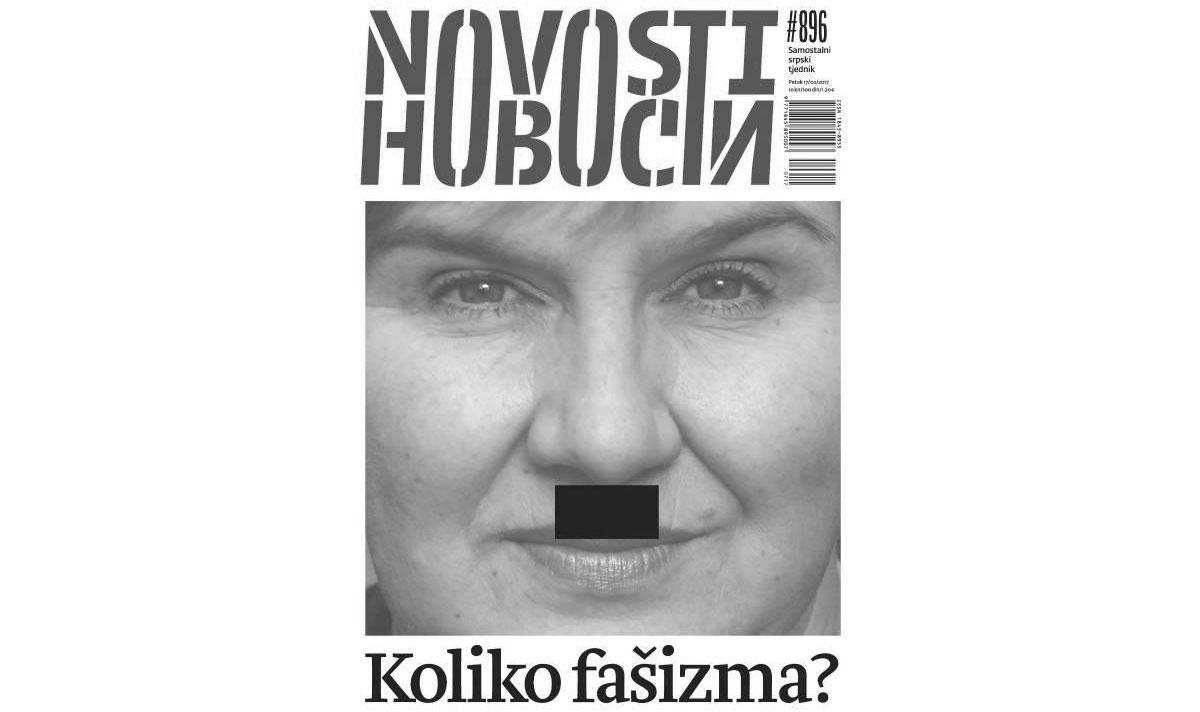 "Naslovnica ""Novosti"" broj 896"
