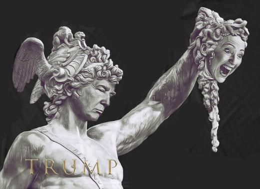 Persej-Tramp i Meduza-Klinton
