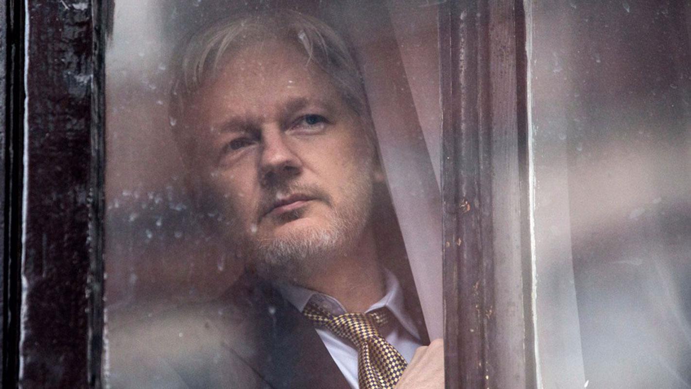 Julian Assange, foto: REX/Shutterstock