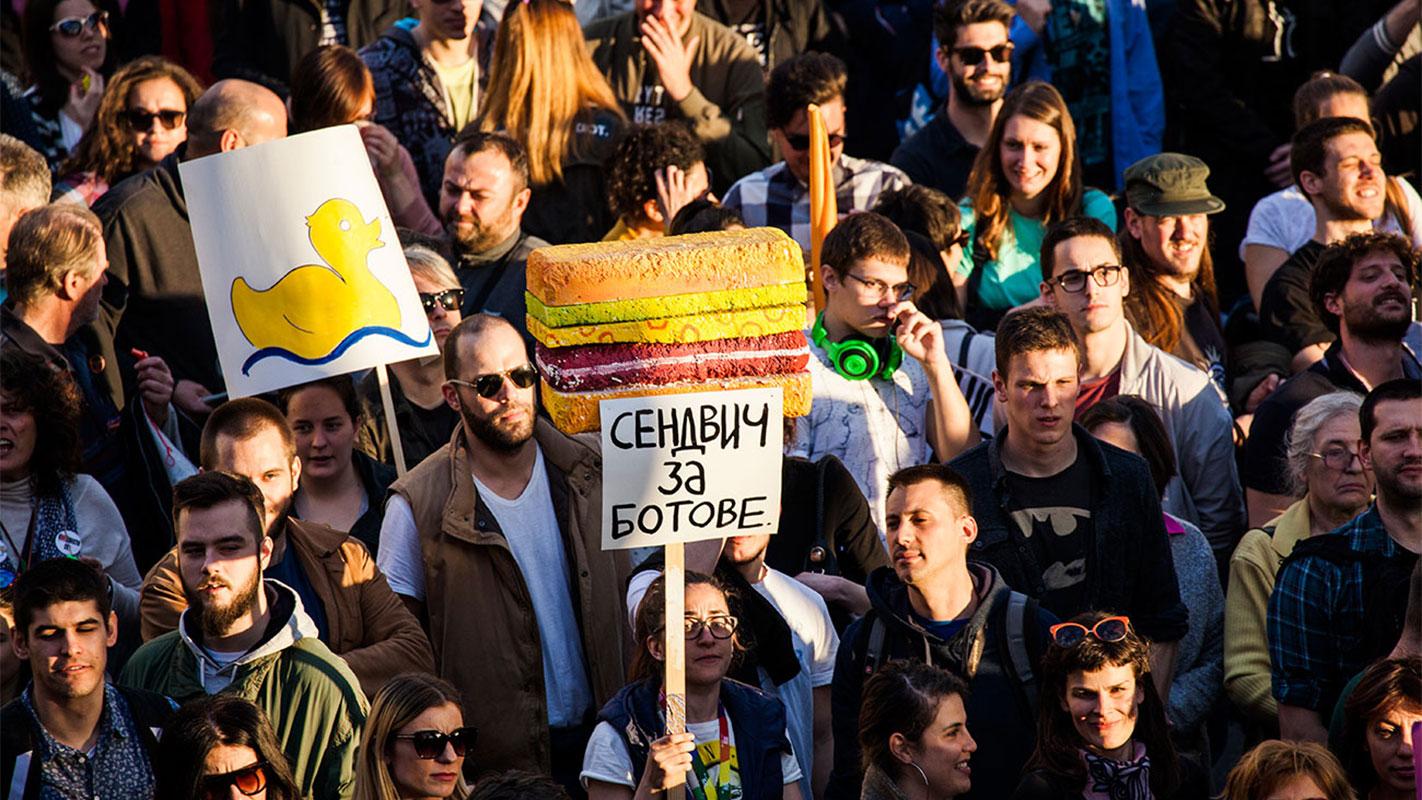 Ne da(vi)mo Beograd, 25.4.2017, foto: Sanja Knežević