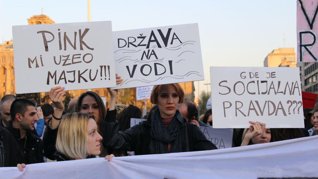 Protesti Protiv diktature, foto: Darija Bađul