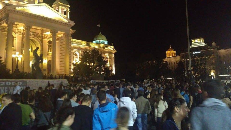 Belgrade protests Against Dictatorship