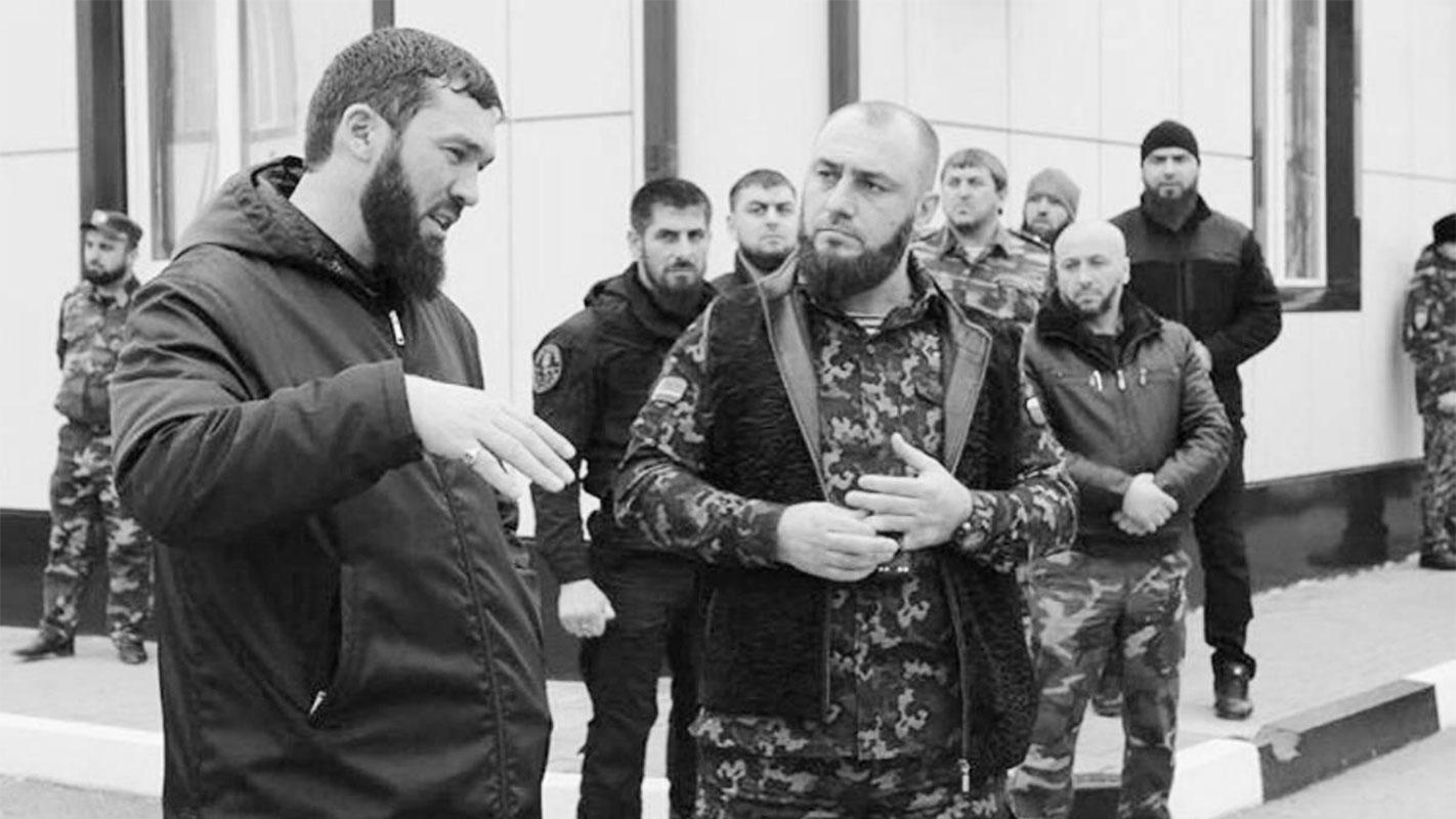 Predsjednik čečenskog parlamenta Magomed Daudov i Ajub Katajev, šef policije u Argunu