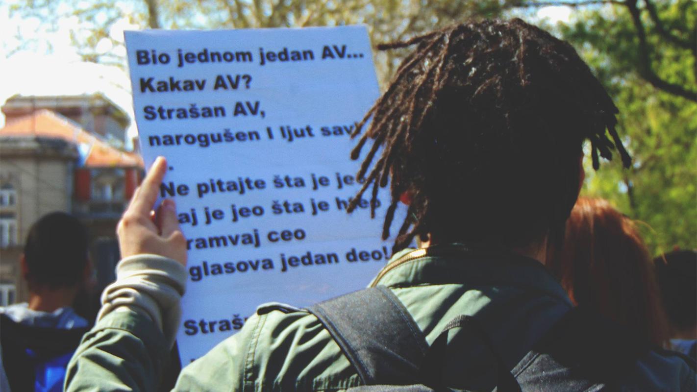 Foto: Protesti Protiv diktature