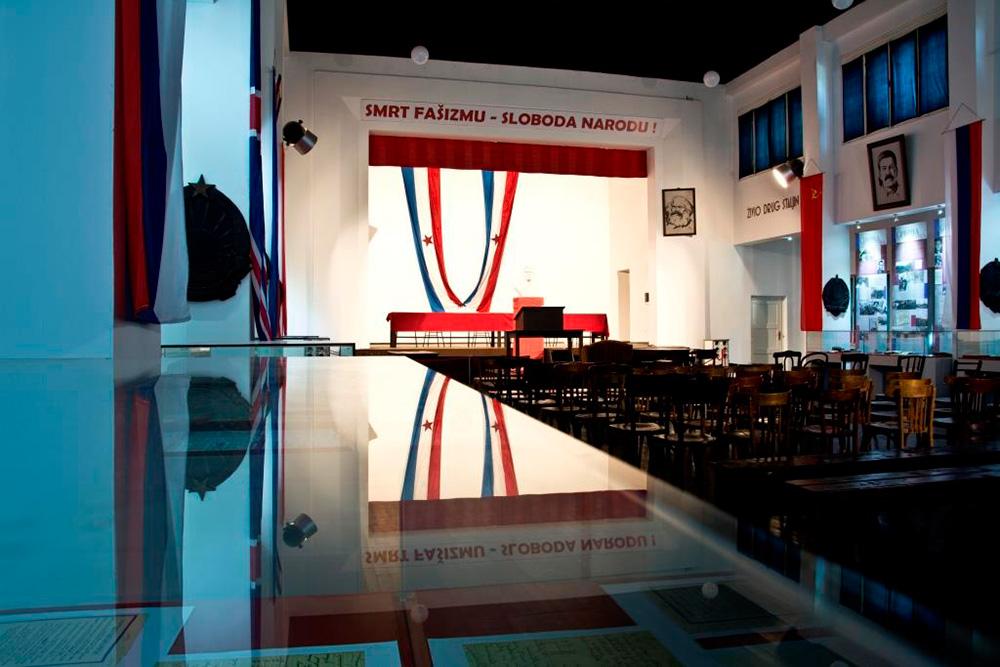 Jajce, Muzej Drugog zasjedanja AVNOJ-a