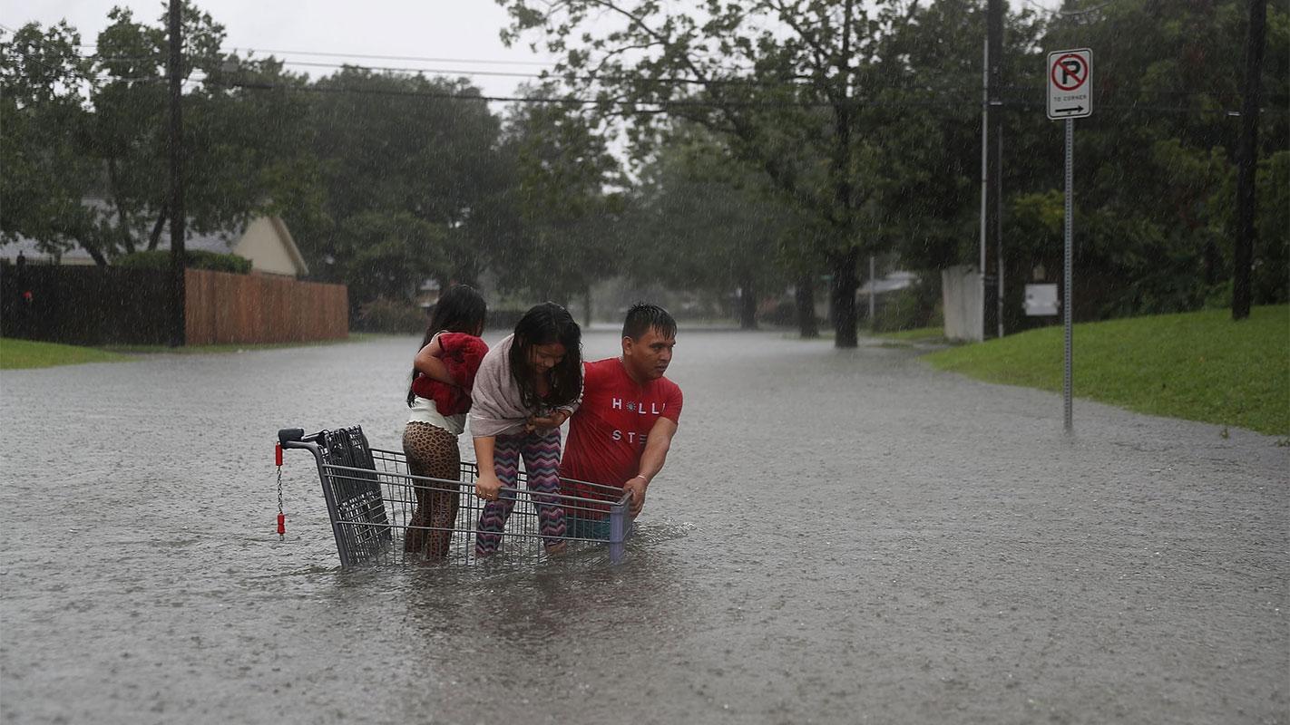 Hjuston, Teksas, 27. avgust, foto: Joe Raedle/Getty Images