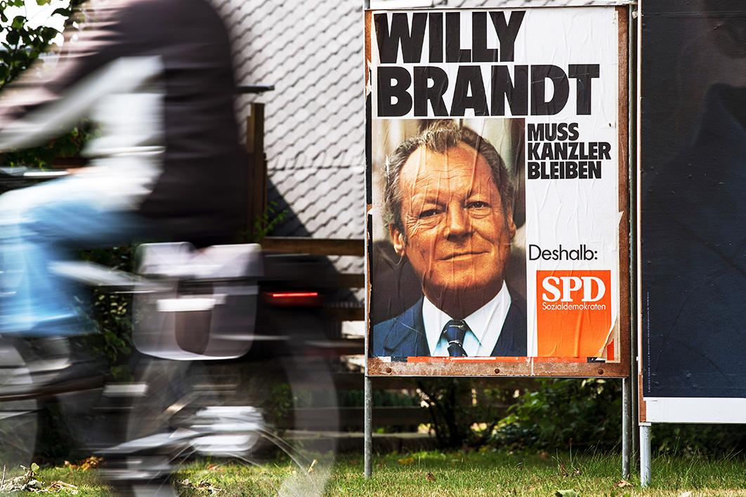 Poster SDP-a 2017, foto: Federico Gambarini/dpa