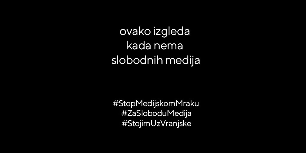 Za slobodu medija