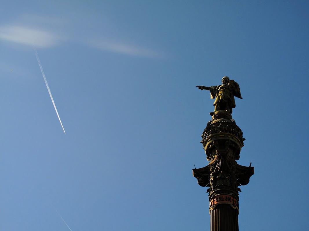 Spomenik Kolumbu, Barselona, foto: Neda Radulović-Viswanatha