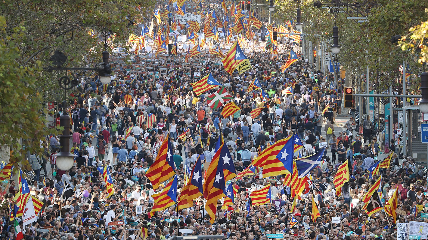 Barselona, oktobar 2017, foto: Sean Gallup/Getty Images