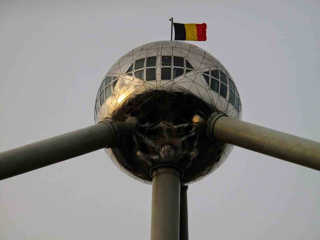 Atomium, Brisel, foto: Neda Radulović-Viswanatha