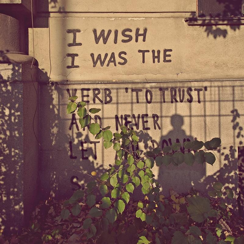 Voleo bih da sam glagol 'verovati', da te nikad ne izneverim, foto: Predrag Trokicić
