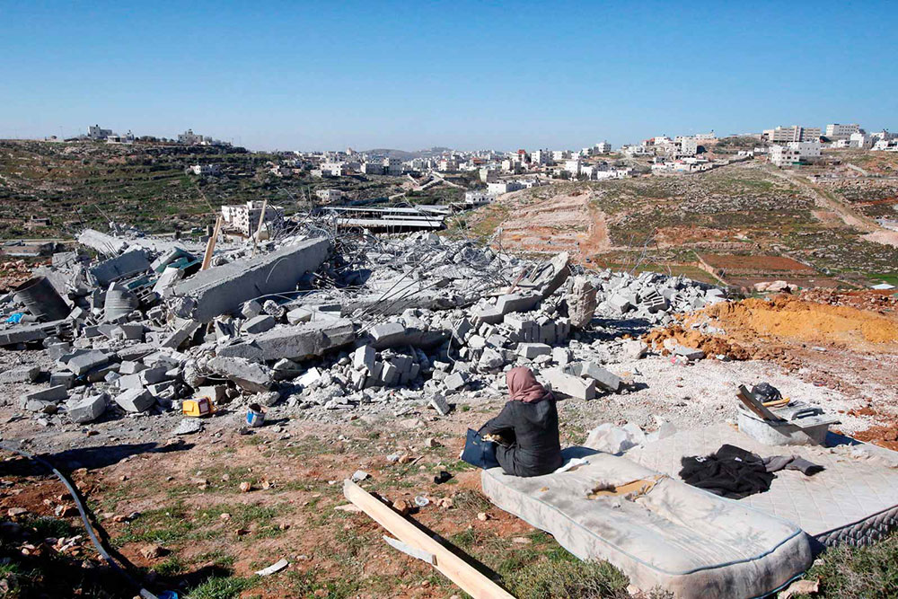 Zapadna obala, okolina Hebrona, mart 2017, foto: Hazem Bader/AFP/Getty Images