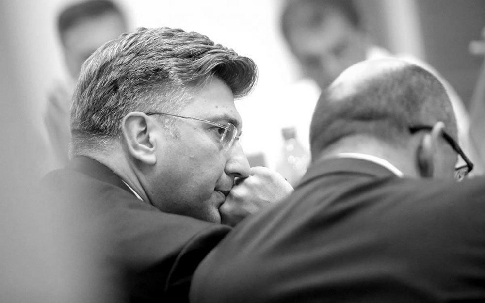 Andrej Plenković i Milijan Brkić, foto: Igor Kralj/PIXSELL