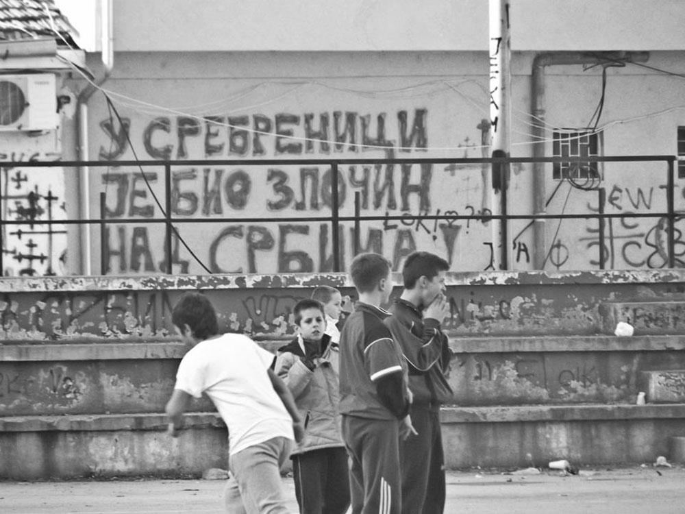 Grafit U Srebrenici je bio zločin nad Srbima, Severna Mitrovica