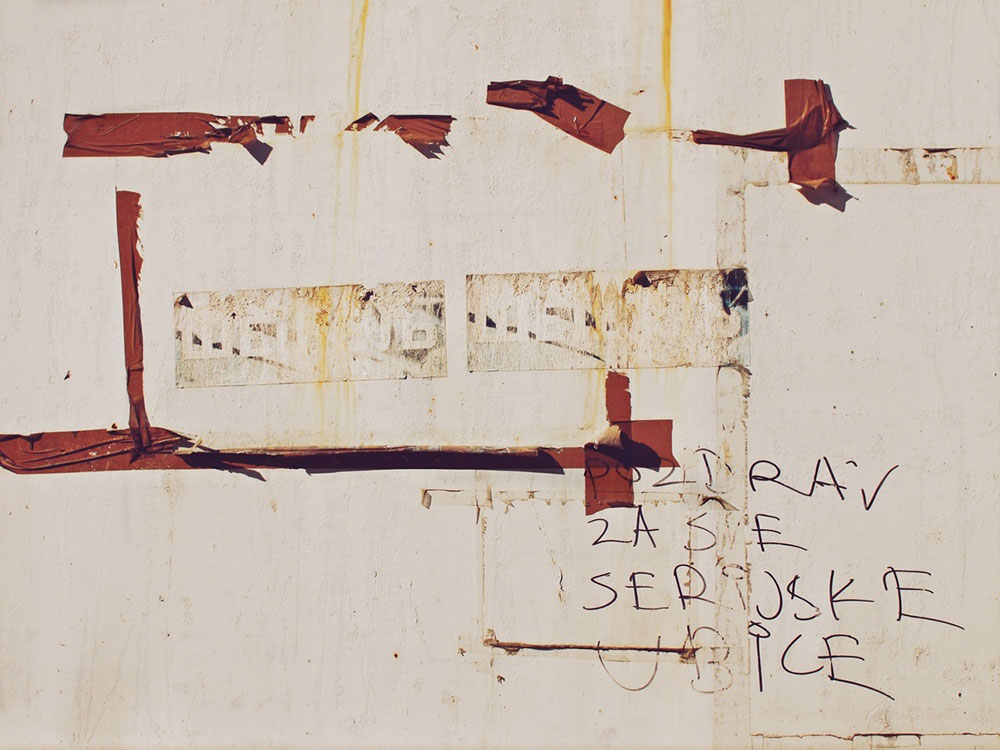 Seselj – Greetings for all the serial killers, photo: Predrag Trokicic