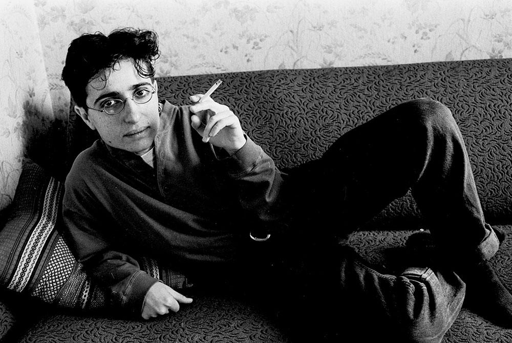 Masha Gessen u svom stanu u Moskvi početkom 1990-ih, foto: Igor Stomakhin