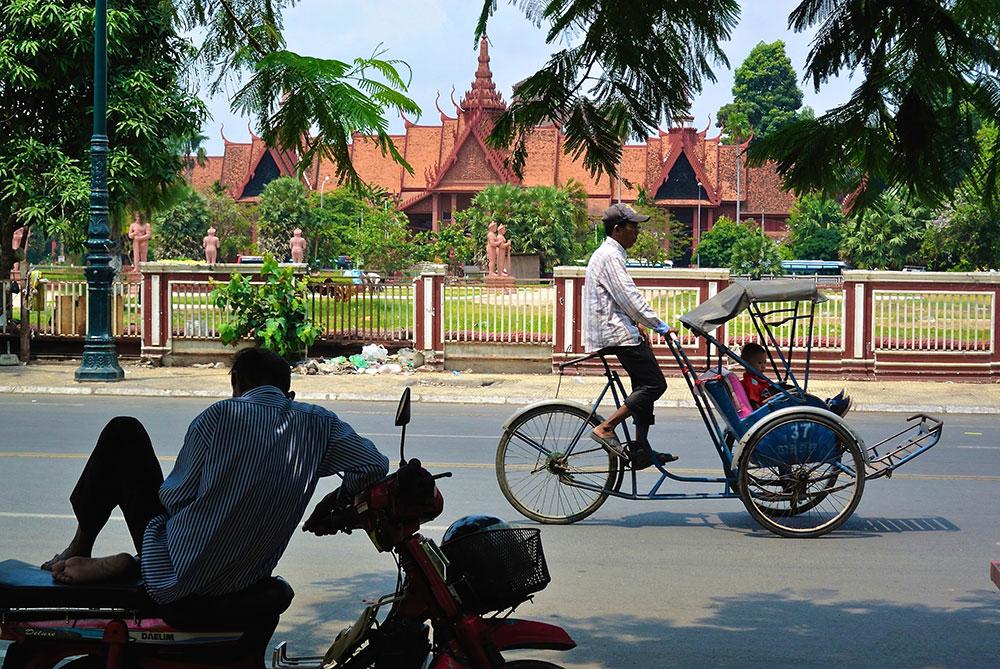 Pnom Pen, Kambodža, foto: Sofia Diaz