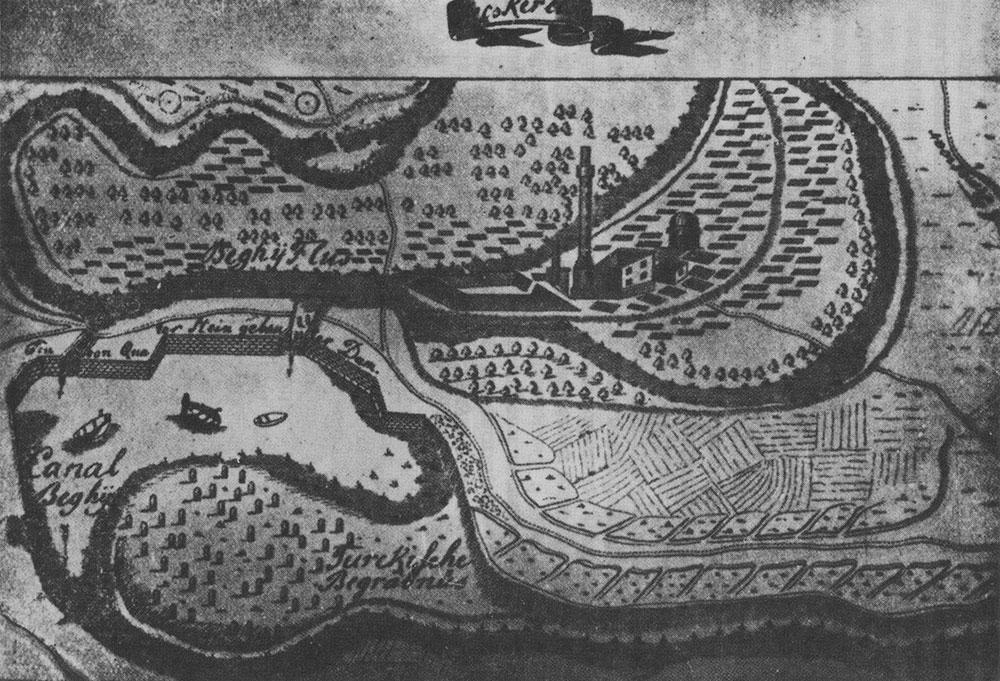 Plan grada iz 1697.