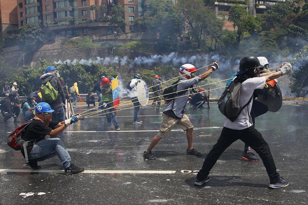 Karakas 2017, foto: AP/Ariana Cubillos