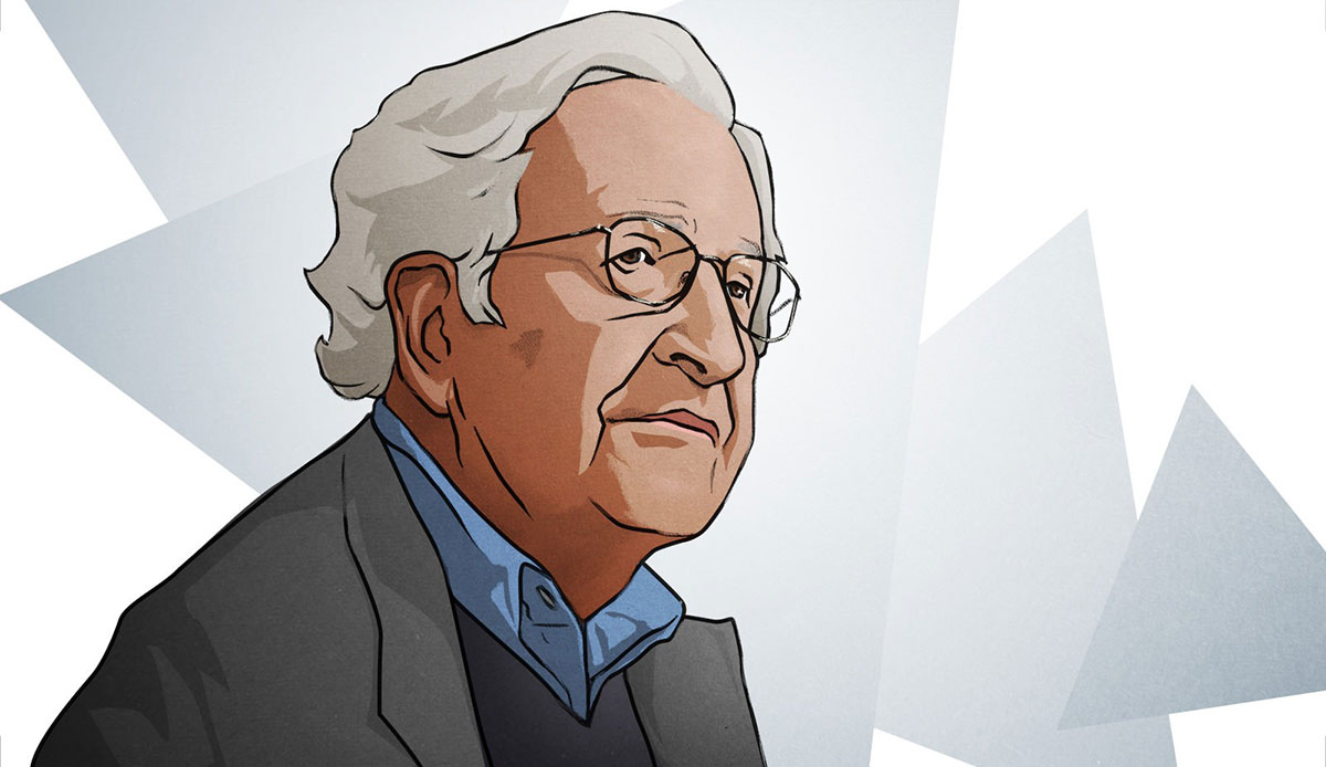 Noam Chomsky, slika: Jared Rodriguez/Truthout