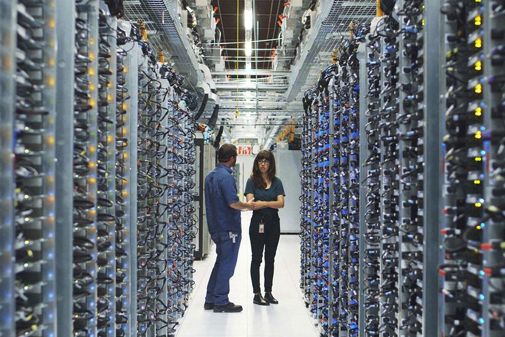 Data centar u Oklahomi, izvor: Google