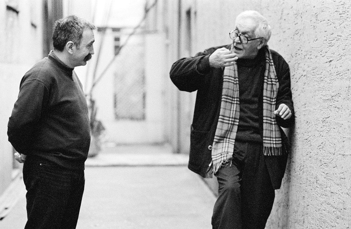 Ljuba Tadić i Slobodan Unkovski, foto: Goranka Matić