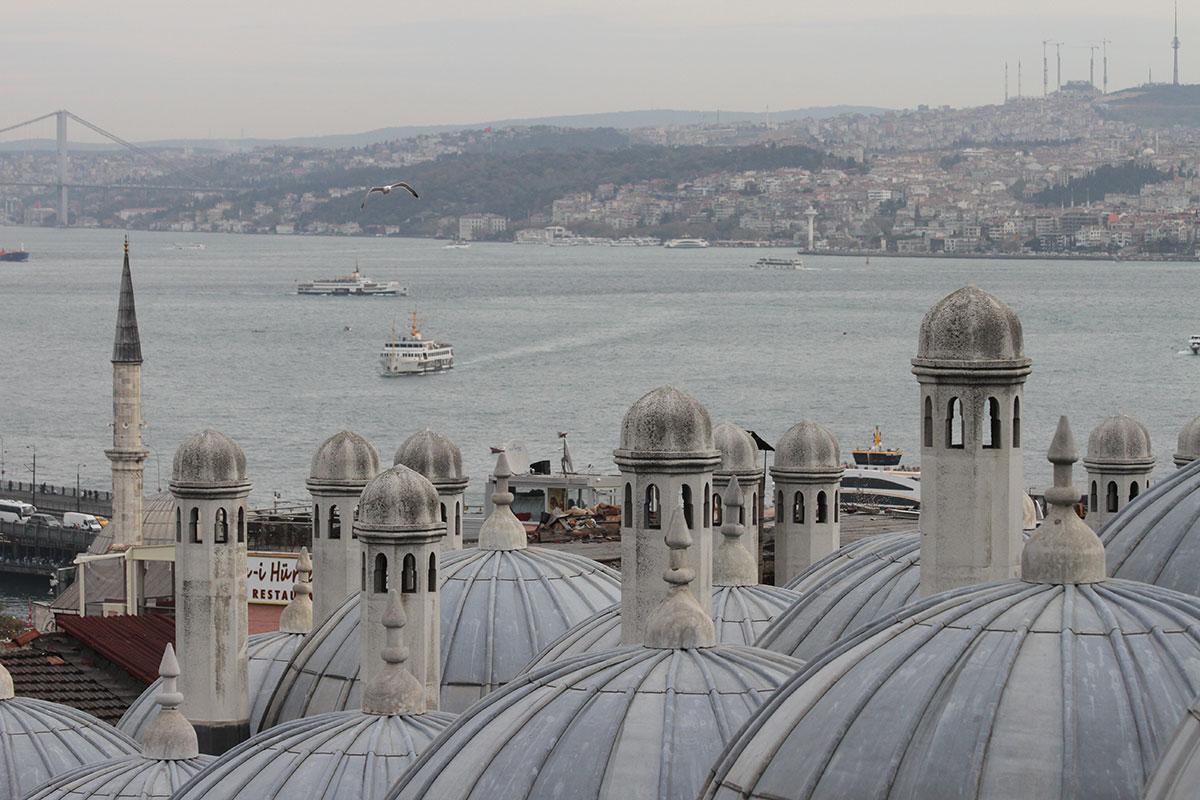 Pogled na Bosfor, Istanbul, foto: Konstantin Novaković