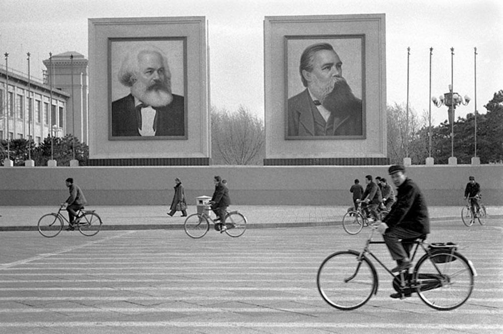 Trg Tjenanmen, 1979, foto: Manel Armengol