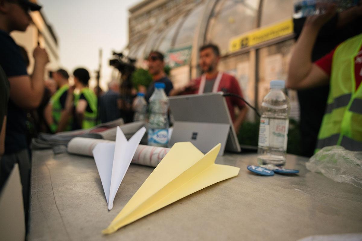 Protesti u Nišu, foto: Peščanik