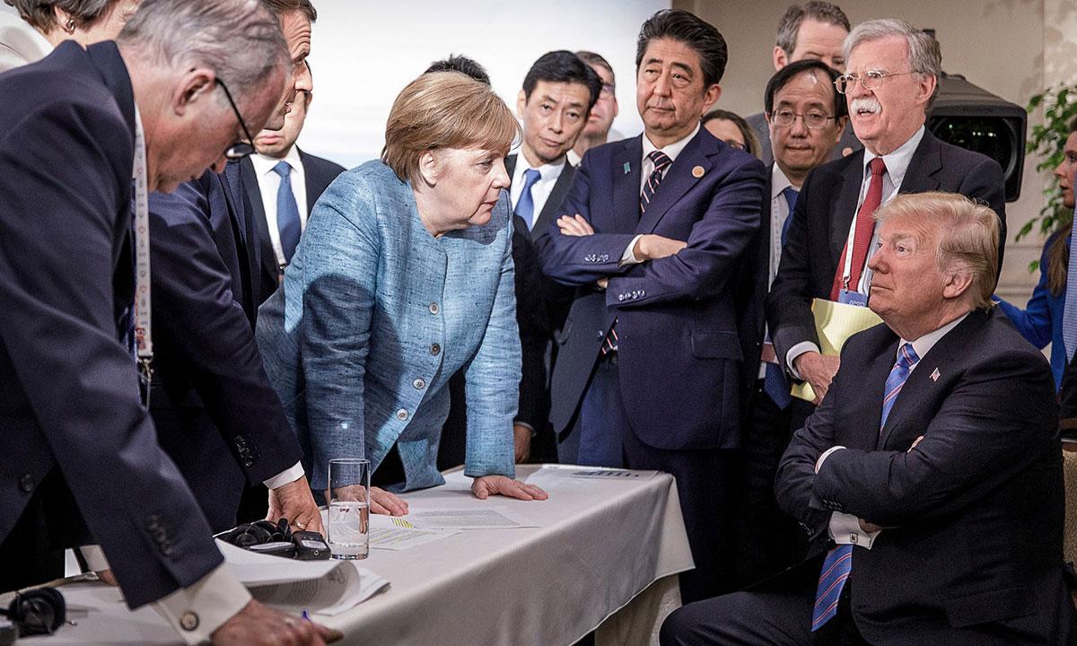 Sa majskog samita G7, foto: Jesco Denze, Handout/EPA