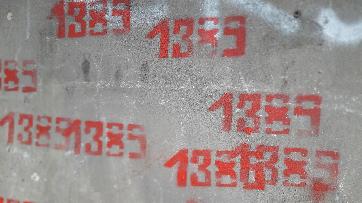 Grafit 1389 na Novom Beogradu
