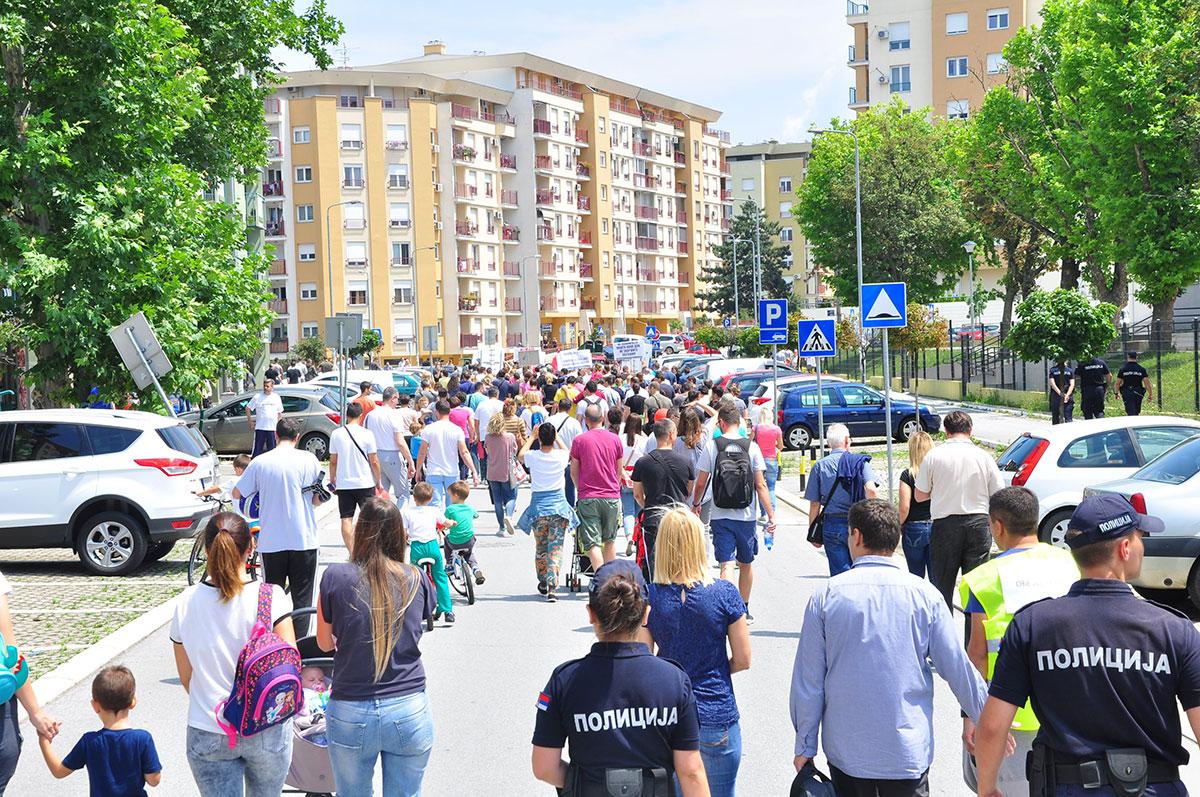 Foto: Protest stanara naselja Stepa Stepanović #proteststepa