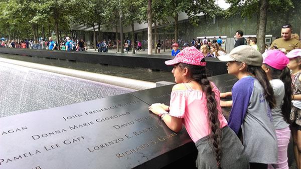 Spomenik 11. septembru u Njujorku