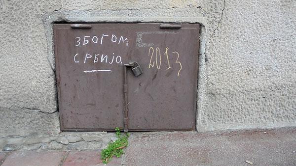 Grafit Zbogom Srbijo na Dorćolu