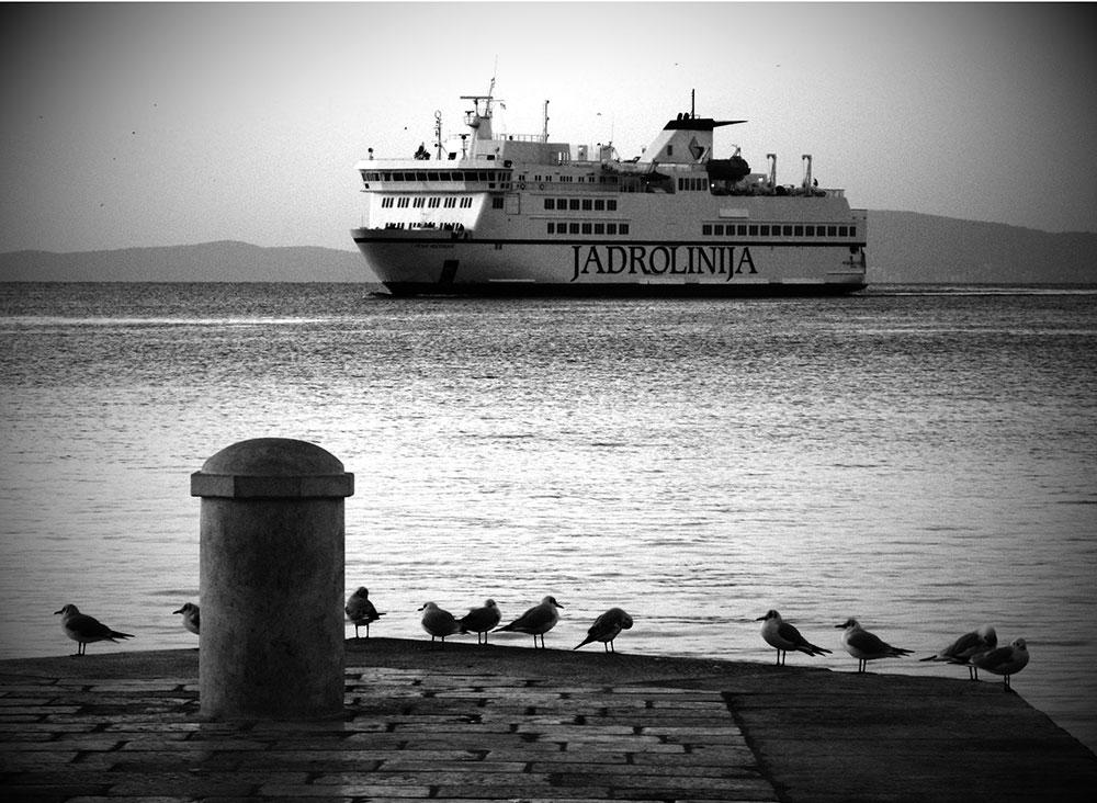 brod Jadrolinija u Splitu