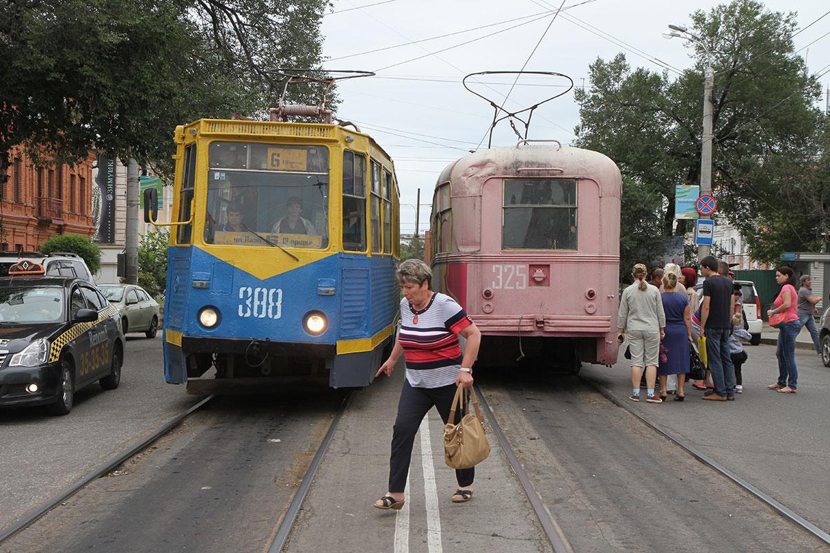 Tramvaji u Habarovsku, Rusija