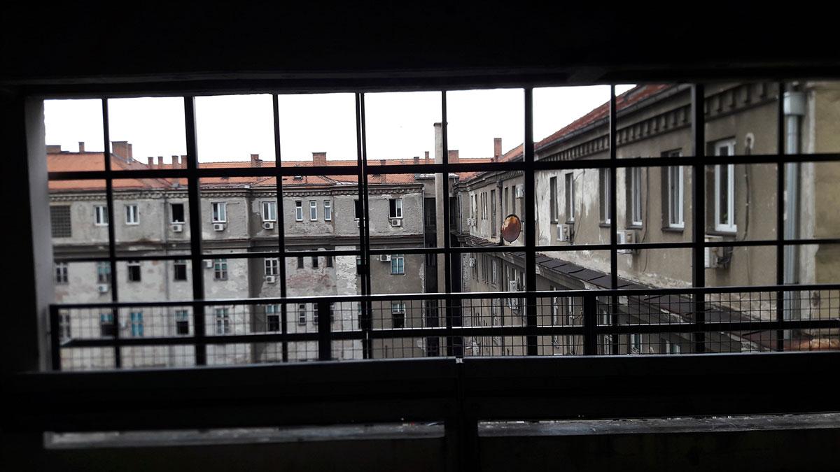 Pogled iz garaže na Zelenom Vencu u Beogradu