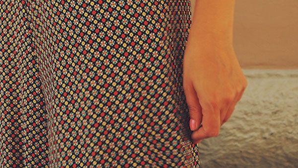 ženska ruka