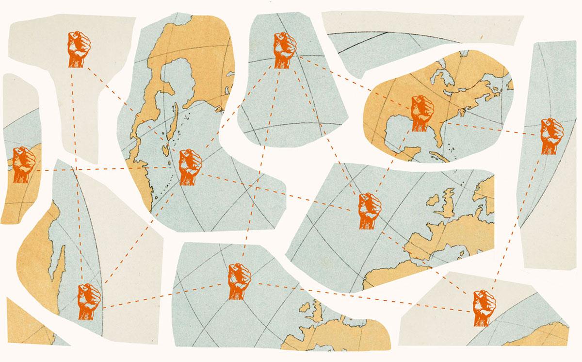 Ilustracija mape otpora