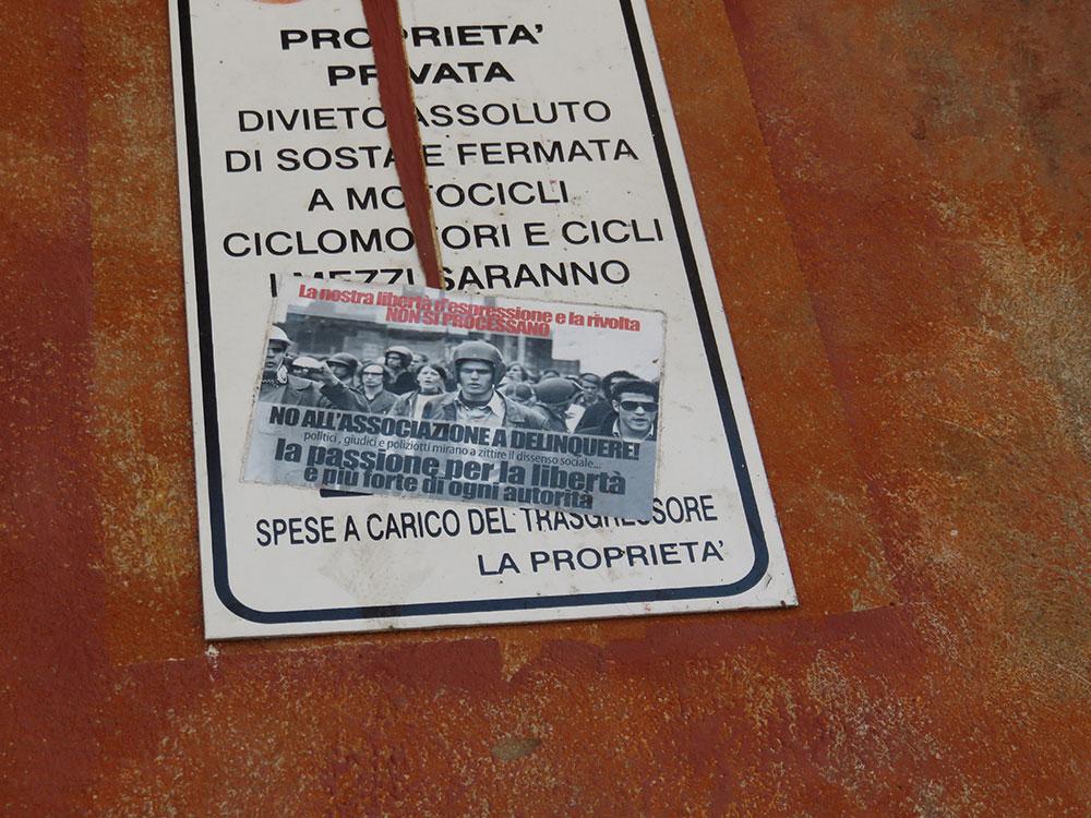 protesni flajer, Bolonja