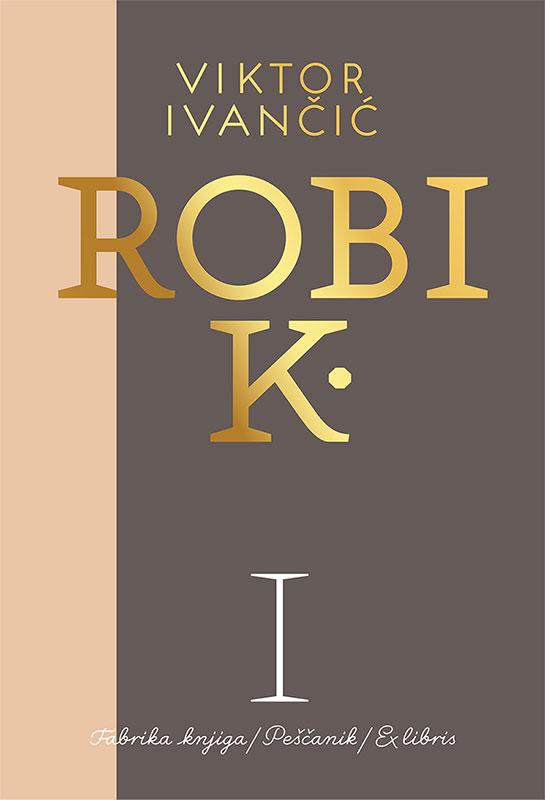 Korica prve knjige Robi K.