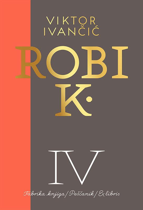 Korica četvrte knjige Robi K.