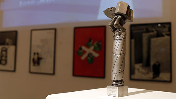 Skulptura Osvajanje slobode