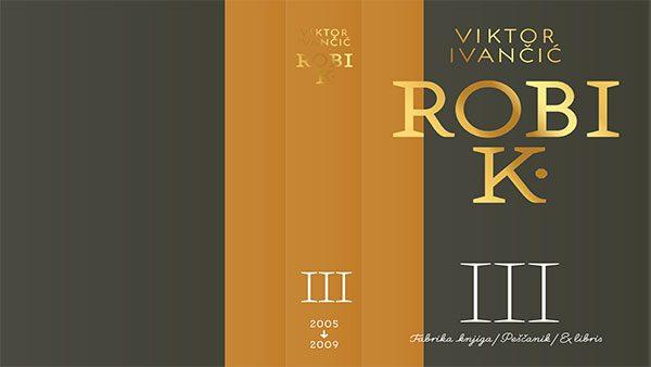 Korica treće knjige Robi K.