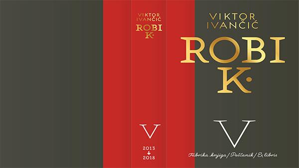 Korica pete knjige Robi K.