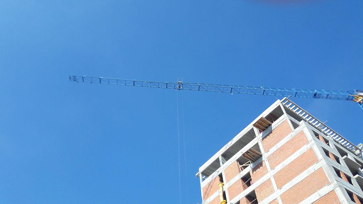 zgrada koja se gradi